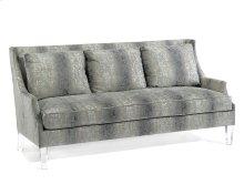 Scoop-Arm Sofa