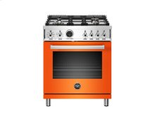 30 inch 4-Burner, Electric Self-Clean Oven Orange
