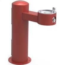 Elkay Outdoor Fountain Pedestal Non-Filtered Non-Refrigerated, Red