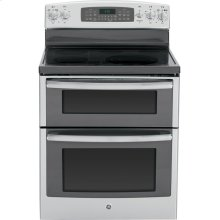 """GE Profile Series 30"""" Free-Standing Double Oven Range with Convection"""