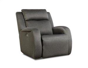 Double Reclining Loveseat w/ Power Headrest & Pillows