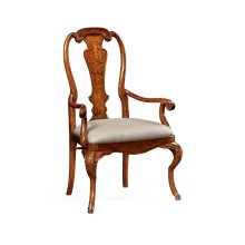 William & Mary Inlaid Chair (Arm)