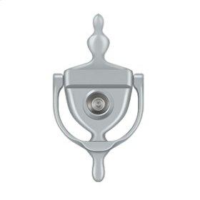 Door Knocker-Viewer - Brushed Chrome