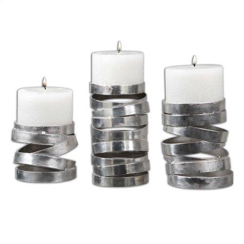 Tamaki Candleholders, S/3