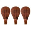 Grill Hopper Magnetic Wooden Hooks - 3 Piece