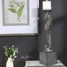 Seahorse Candleholder