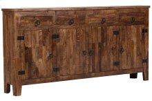 Vintage 4 Door, 4 Drawer Sideboard, GE5162