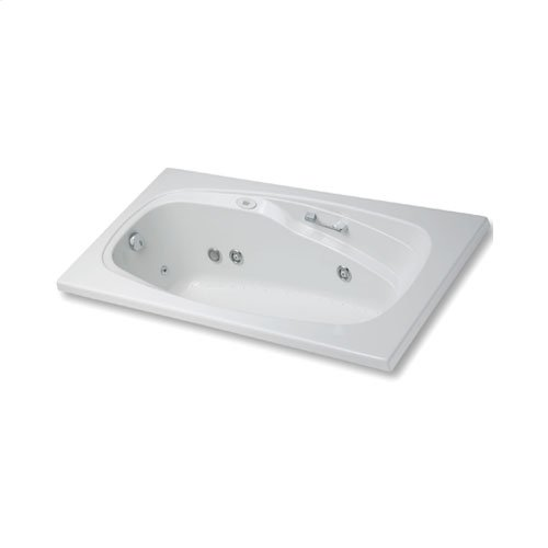 "Easy-Clean High Gloss Acrylic Surface, Rectangular, MicroSilk® - Whirlpool Bathtub, Standard Package, 42"" X 60"""