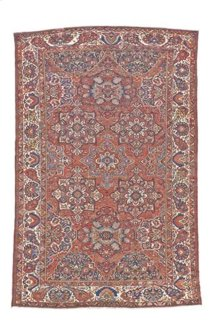 "PER BAKTIARI 000044885 IN RED IVORY 13'-9"" x 20'-0"""