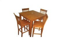 "5-pc-Wood / Veneer Pub Set - 36"" H"