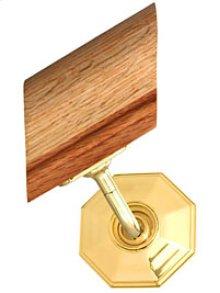 Handrail Bracket w/Small Moorestown Rose