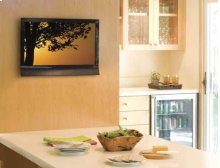 "Black Super Slim Fixed-Position Mount For 13"" - 26"" flat-panel TVs"