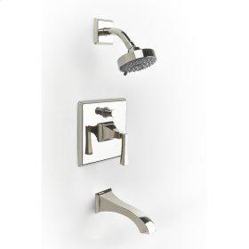 Polished Nickel Hudson (Series 14) Tub and Shower Trim