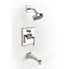 Polished Nickel Hudson (Series 14) Tub and Shower Trim