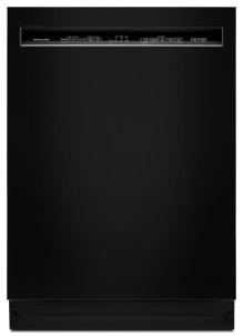 46 DBA Dishwasher with ProWash Cycle and PrintShield Finish, Front Control - Black