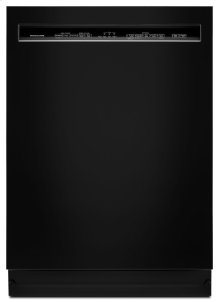 46 DBA Dishwasher with ProWash Cycle and PrintShield Finish, Front Control - Black