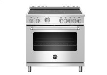 "36"" Master Series range - Electric oven - 5 induction zones"