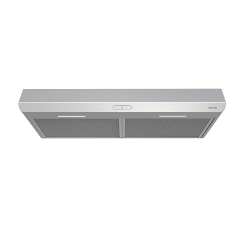 Sahale 30-inch 250 CFM Stainless Steel Range Hood with LED light