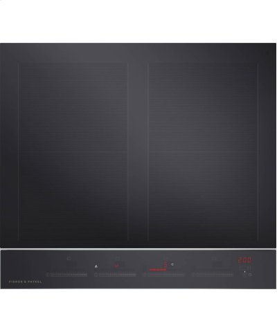 "Induction Cooktop 24"", 4 Zone with SmartZone Product Image"