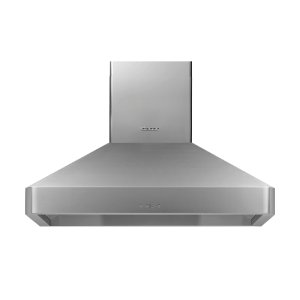 """Dacor42"""" Chimney Wall Hood, Silver Stainless Steel"""