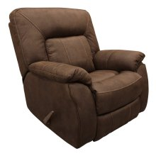 Caesar Dark Kahlua Manual Glider Recliner