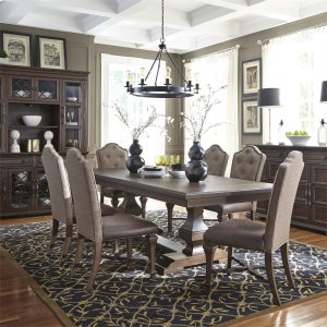 Liberty Furniture Industries7 Piece Double Pedestal Table Set