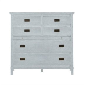 Resort Harbor Media Chest in Sea Salt
