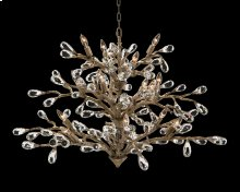 Budding Crystal Sixteen-Light Chandelier