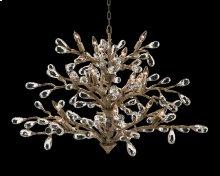 Budding Crystal Sixteen-Light Chandelier