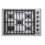"Viking30"" Gas Cooktop, Natural Gas"