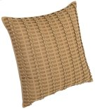 "Luxe Pillows Pleated Herringbone (21"" x 21"") Product Image"