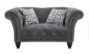 Hutton II - Loveseat Nailhead W/2 Pillows Product Image