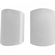 """All Weather Outdoor Loudspeakers with 5.25"""" Drivers, 1"""" Tweeters and PowerPort Bass Venting in White"""