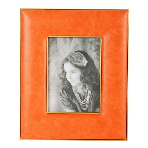 "AV37932  Hanley Orange 4x6"" Frame"