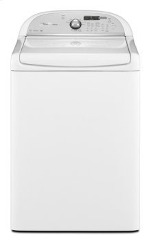 White Whirlpool® ENERGY STAR® Qualified Cabrio® 5.0 cu. ft. I.E.C. Equivalent* High- Efficiency Top Load Washer