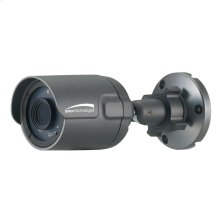 3MP Flexible Intensifier® Technology IP68 Bullet IP Camera, 3.6mm Fixed Lens, Dark Gray Housing