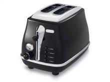 Icona 2 Slice Toaster CTO2003BK  De'Longhi US