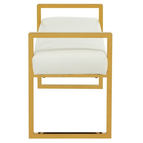 Paxon Double Bench in White