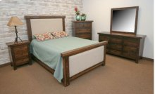 Uptown Queen Upholstered Bed
