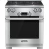 Miele Hr 1724 G - 30 Inch Range Dual Fuel Model With Directselect Controls.