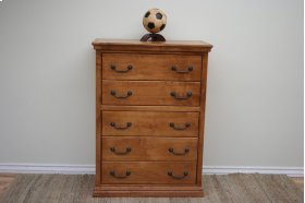 A-T315 Traditional Alder 5-Drawer Chest