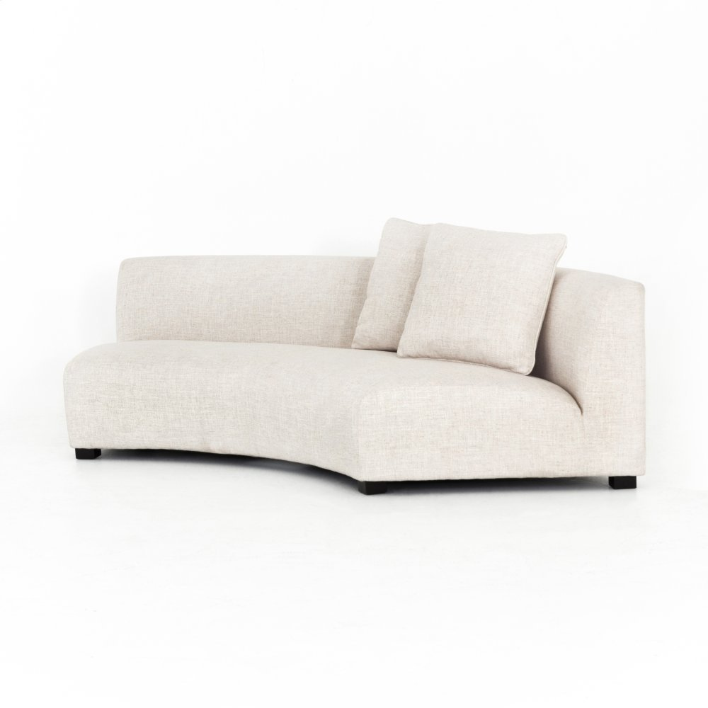Dover Crescent Cover Single - Right Arm Facing Configuration Liam Sectional
