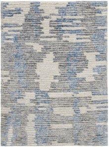 Ellora Ell01 Blue Rectangle Rug 2'3'' X 3'