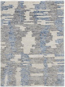 Ellora Ell01 Blue Rectangle Rug 2'3'' X 3'