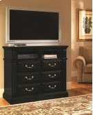 Media Chest - Antique Black Finish Product Image