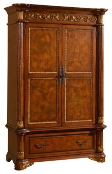 Royal Cherry Armoire - 54''L x 24''D x 83''H