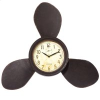 Propeller Wall Clock. Product Image