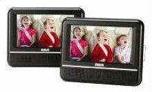 "7"" Dual Screen Mobile DVD Player"