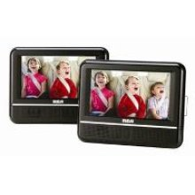 "7"" Dual Screen Mobile DVD Player"