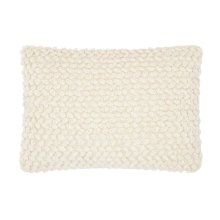 "Life Styles Dc142 Ivory 14"" X 20"" Throw Pillow"